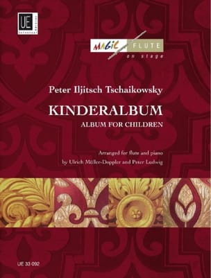 Kinderalbum - Flöte Klavier TCHAIKOVSKY Partition laflutedepan