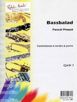 Bassbalad Pascal Proust Partition Contrebasse - laflutedepan