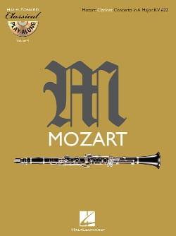 Concerto en La Maj. Kv 622 - CD Inclus MOZART Partition laflutedepan