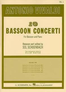 10 Bassoon Concerti - Volume 1 - VIVALDI - laflutedepan.com
