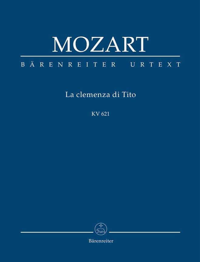 La Clemenza Di Tito - MOZART - Partition - laflutedepan.com