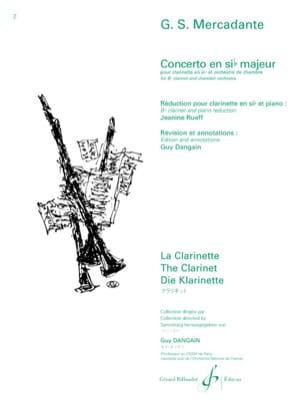 Concerto en Sib Majeur Op.101 Saverio Mercadante laflutedepan