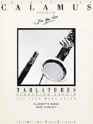 Tablatures - Clarinette Basse Jean-Marc Volta Partition laflutedepan