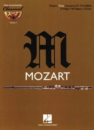 Concerto en Ré Maj. Kv 314 MOZART Partition laflutedepan