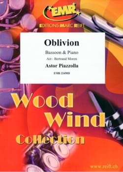 Oblivion Astor Piazzolla Partition Basson - laflutedepan