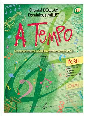 A Tempo Volume 9B - Ecrit - BOULAY - MILLET - laflutedepan.com