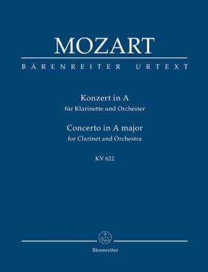 Klarinettenkonzert A-Dur KV 622 - Partitur MOZART laflutedepan