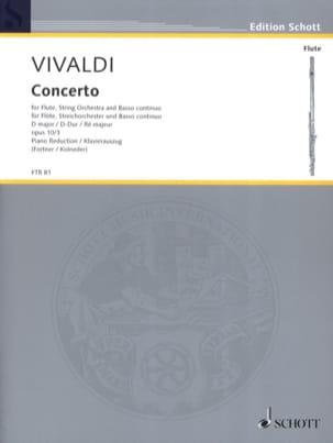Concerto en Ré Maj. - F. 6 n° 14 Il Gardellino - Flûte/Piano - laflutedepan.com