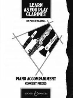 Learn as you play clarinet - Piano acc. Peter Wastall laflutedepan
