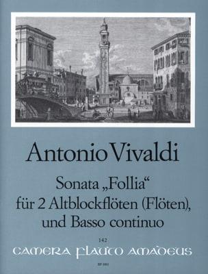 Sonata Follia -2 Altblockflöten Flöten BC - laflutedepan.com