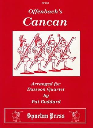 The Cancan OFFENBACH Partition Basson - laflutedepan
