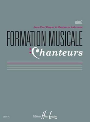Formation Musicale Chanteurs - Volume 2 laflutedepan