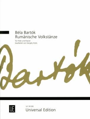 Rumänische Volkstänze - Flûte et piano BARTOK Partition laflutedepan