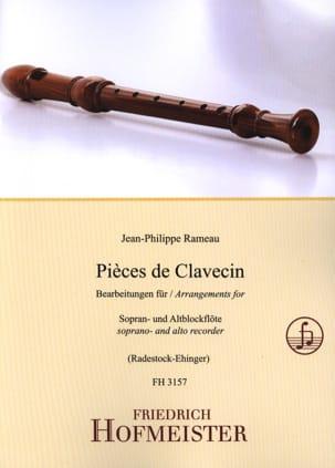 Pièces de Clavecin - 2 Flûtes à Bec RAMEAU Partition laflutedepan