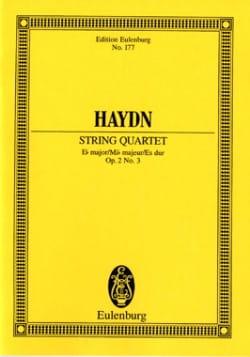 Streich-Quartett Es-Dur op. 2 n° 3 - HAYDN - laflutedepan.com