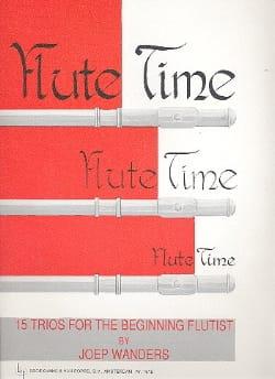 Flute Time - Volume 1 - 3 Flûtes Joep Wanders Partition laflutedepan