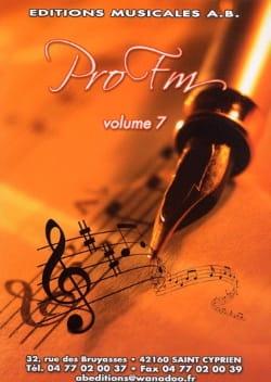 Pro FM Volume 7 Partition Solfèges - laflutedepan