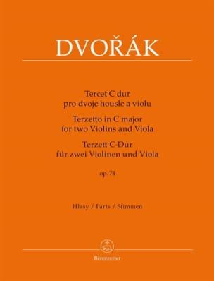 Terzetto pour 2 violons et alto en ut majeur, op. 74 laflutedepan