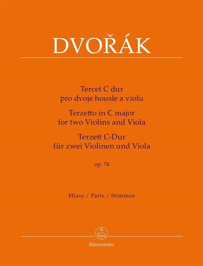 Terzetto pour 2 violons et alto en ut majeur, op. 74 - laflutedepan.com