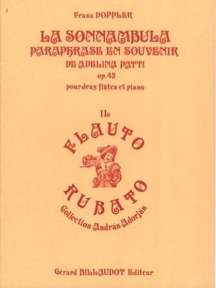 La Sonnambula op. 42 Franz Doppler Partition Trios - laflutedepan