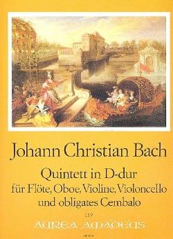 Quintett in D-Dur op. 22 n° 1 -Flöte Oboe Violine Cello Cembalo laflutedepan