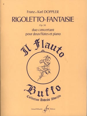 Rigoletto Fantaisie op. 38 Doppler Franz / Doppler Karl laflutedepan