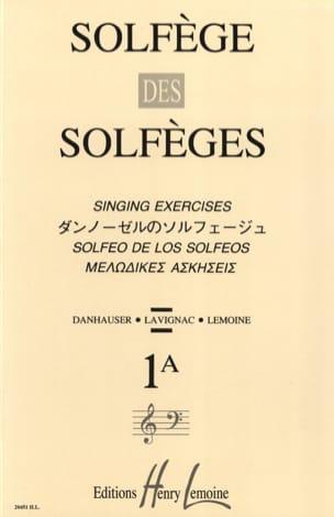 Solfège des Solfèges Volume 1 A - Sans Accompagnement laflutedepan