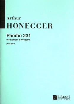 Pacific 231 HONEGGER Partition Grand format - laflutedepan