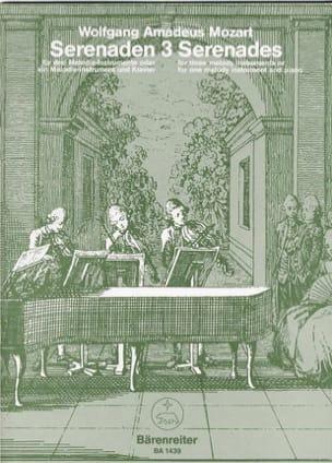 Sérénades, Volume 3 - MOZART - Partition - laflutedepan.com