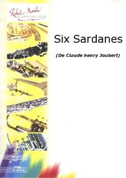 6 Sardanes Claude-Henry Joubert Partition laflutedepan
