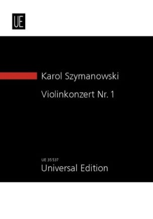 Concerto pour Violon N° 1, Op. 35 SZYMANOWSKI Partition laflutedepan