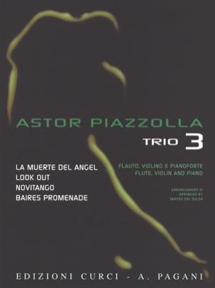 Astor Piazzolla - Astor Piazzolla for Trio Volume 3 - Partition - di-arezzo.fr
