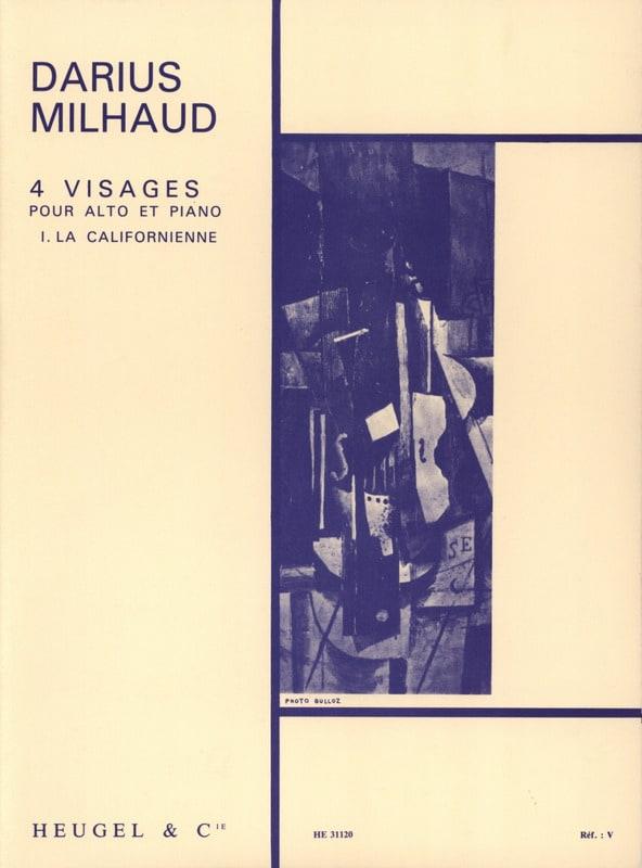 4 Visages - N° 1 la Californienne - MILHAUD - laflutedepan.com
