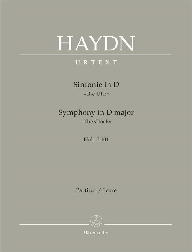 Symphonie N° 101 D-Dur - Partitur - HAYDN - laflutedepan.com