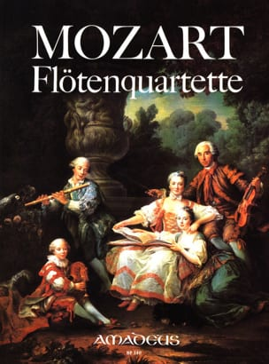 Flötenquartette -Stimmen - MOZART - Partition - laflutedepan.com
