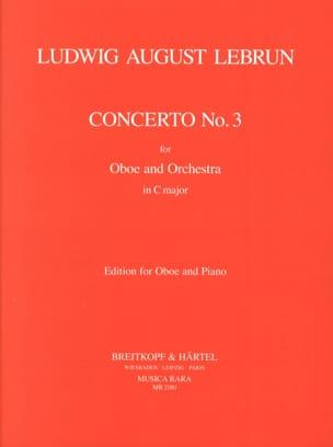 Concerto En C N° 3 Ludwig August Lebrun Partition laflutedepan