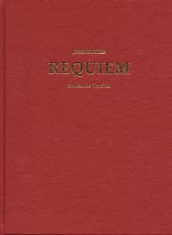 Requiem Score, Chamber Ensemble With Organ RUTTER laflutedepan