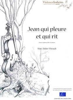Jean qui pleure et qui rit Marc-Didier Thirault Partition laflutedepan