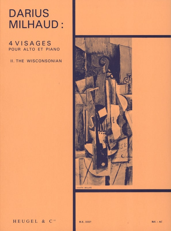 4 Visages - n° 2 The Wisconsonian - MILHAUD - laflutedepan.com