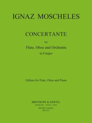 Concertante in F major - flute oboe piano Ignaz Moscheles laflutedepan