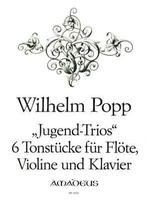 Jugend Trios - 6 Tonsstücke - Flöte Violine Klavier laflutedepan