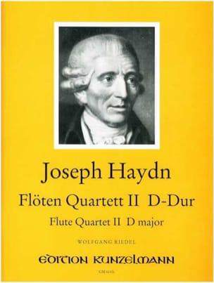 Flötenquartett Nr. 2 D-Dur -Flöte Violine Viola Cello laflutedepan