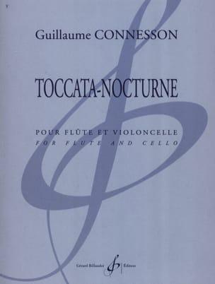 Toccata - Nocturne CONNESSON Partition Duos - laflutedepan
