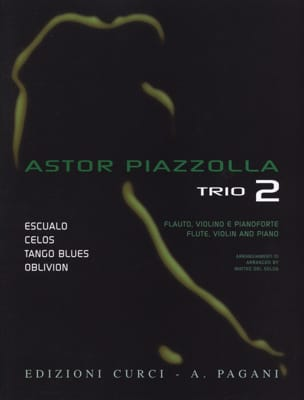 Astor Piazzolla for Trio Volume 2 Astor Piazzolla laflutedepan