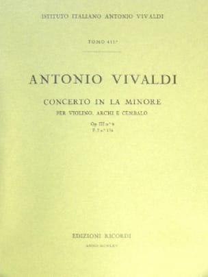 Concerto en la min. - F. 1 n° 176 - Partitura - laflutedepan.com