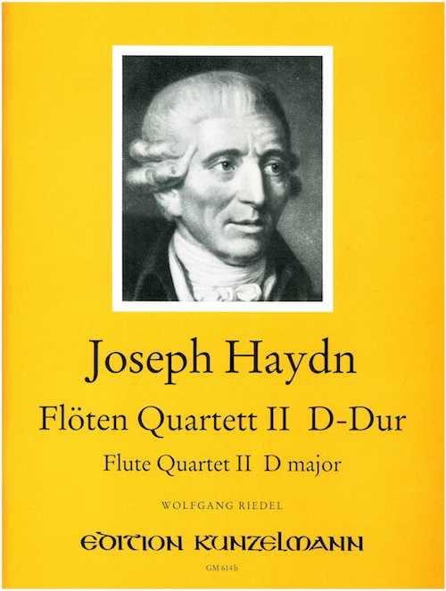 Flötenquartett Nr. 2 D-Dur -Flöte Violine Viola Cello - laflutedepan.com