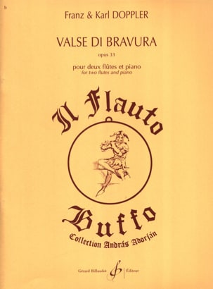 Valse Di Bravura Op. 33 Albert Franz Doppler Partition laflutedepan