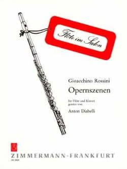 Opernszenen - Flöte Klavier ROSSINI Partition laflutedepan