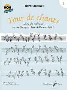 Tour de Chants Volume 1 - Jean-Clément Jollet Partition laflutedepan
