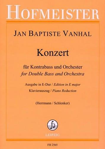Konzert in E Dur - Kontrabass - laflutedepan.com